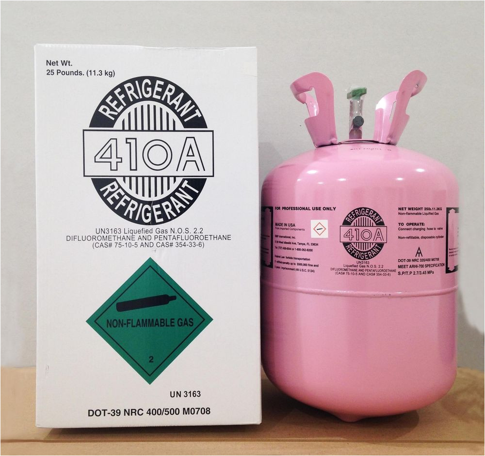 r 410a refrigerant 25lb cylinder original brand new factory sealed lowest price 6958933222270 ebay