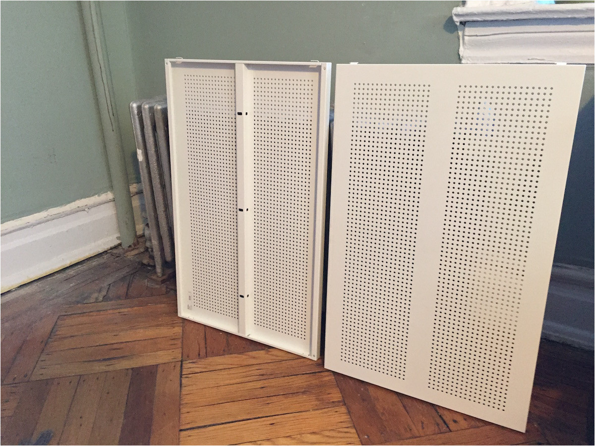 radiator cover ikea hack