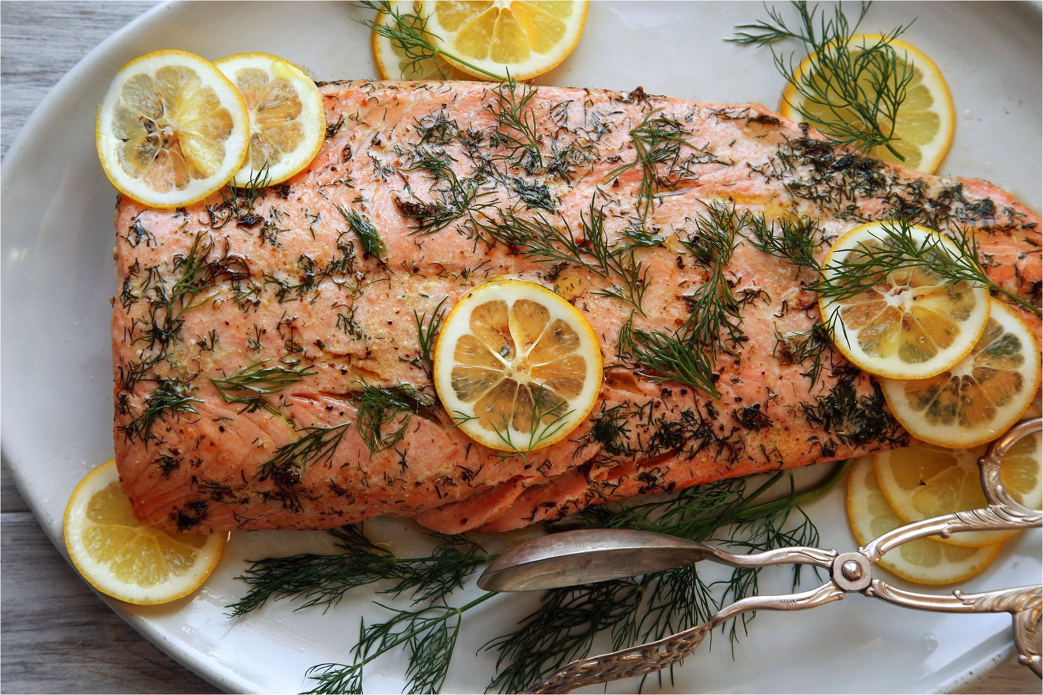 salmon roasted in butter receta recipes pinterest recetas pescado comida y camarones