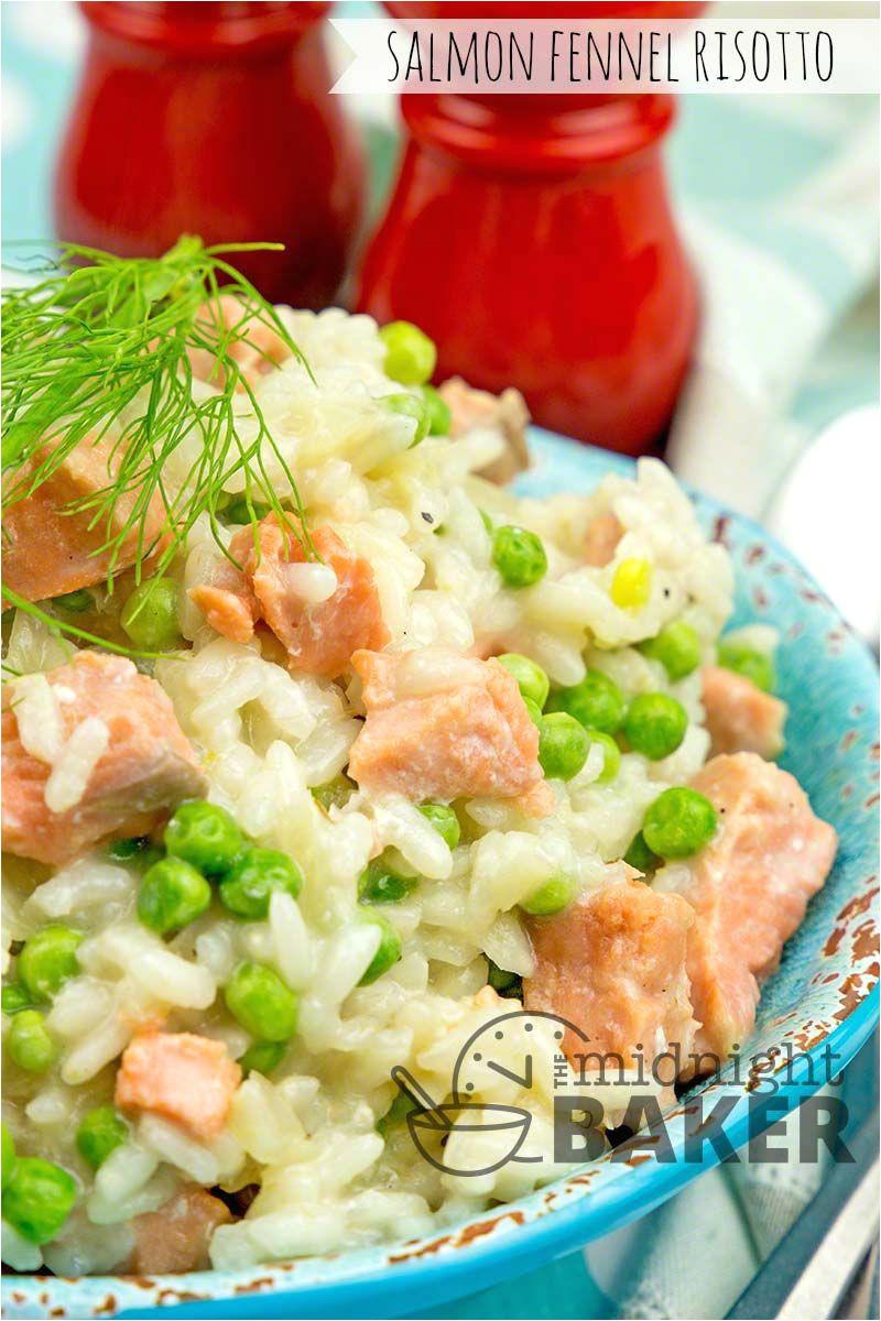 Recetas De Salmon Faciles Salmon Fennel Risotto Recipes In 2018 Pinterest