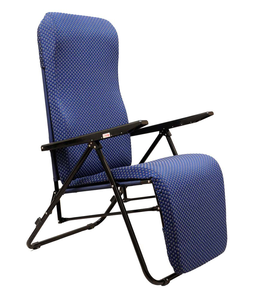 tulip recliner blue