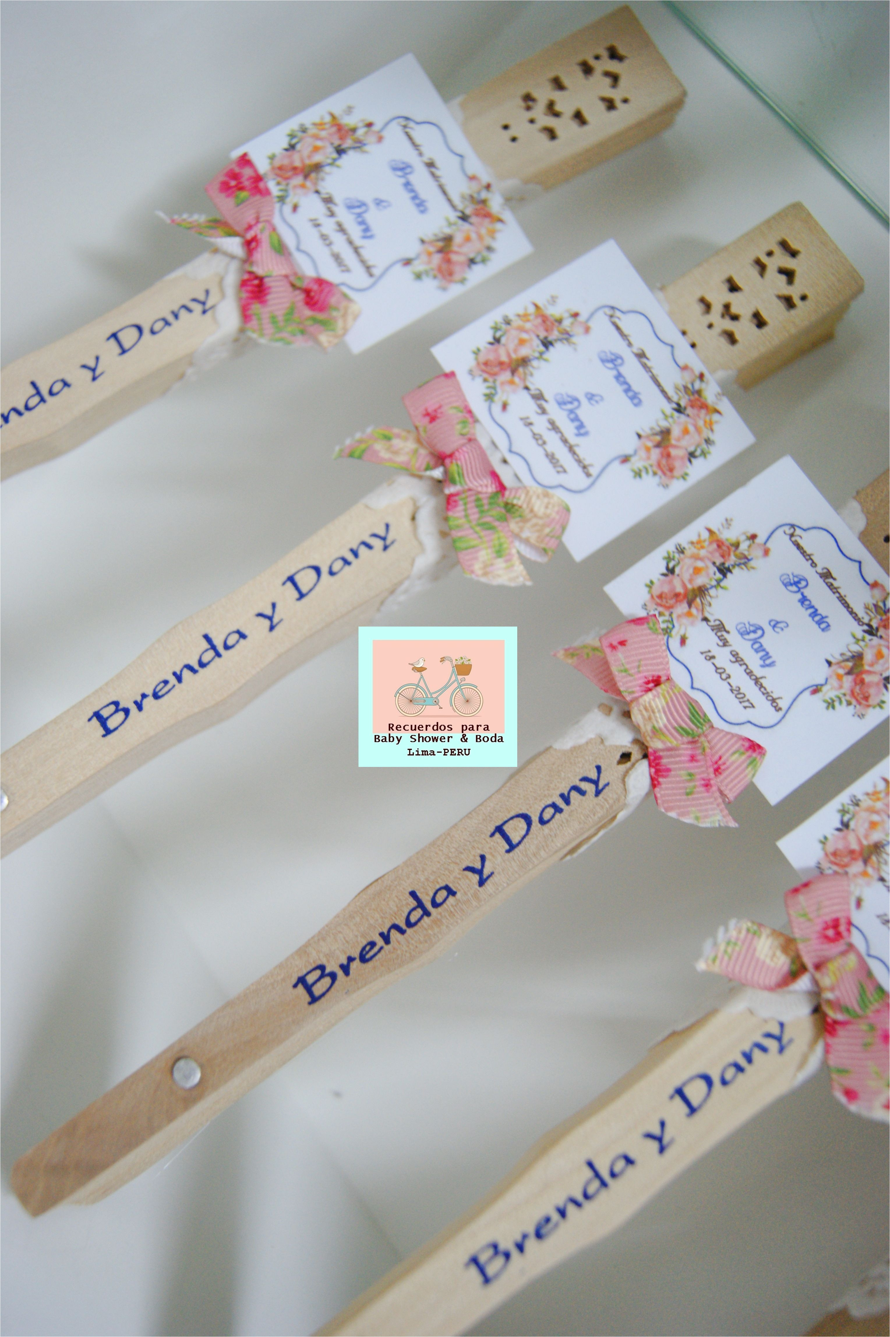 abanicos boda bautizo brunch