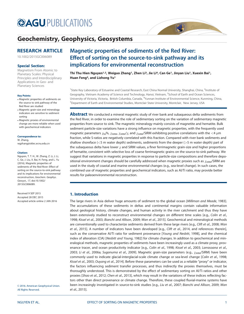 pdf assessment of heavy metal pollution in red river surface sediments vietnam