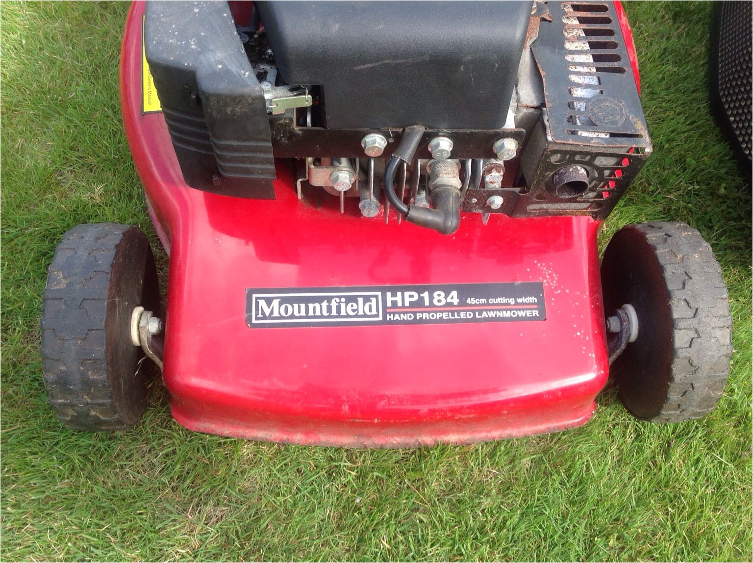 mountfield hp 184 lawnmower v g c 4c4b776f jpg