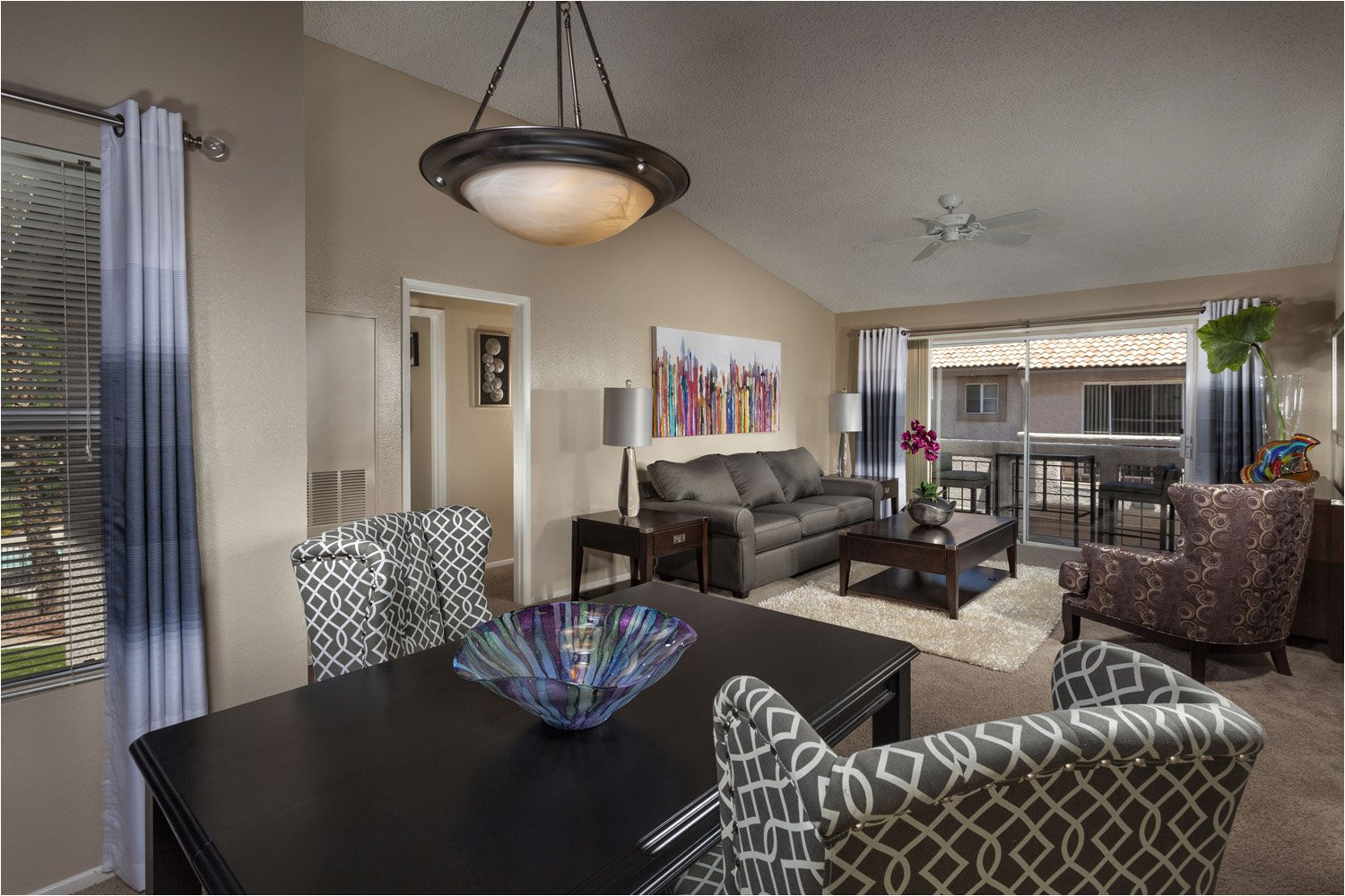 sahara west apartments dining area