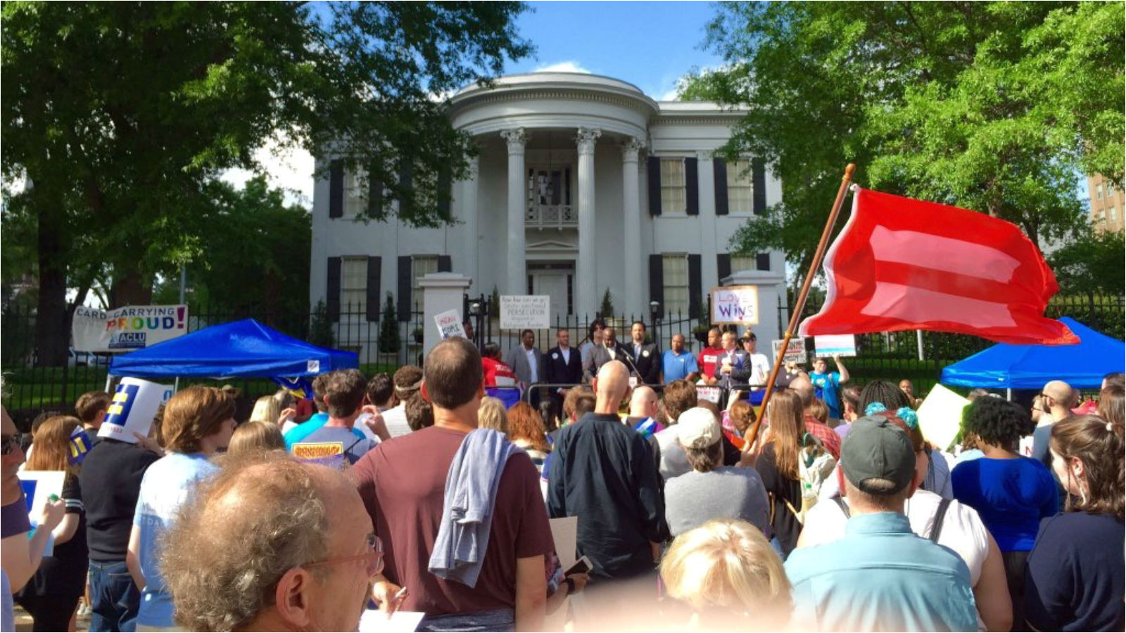 hundreds march rally in jackson ms to demand repeal of discriminatory h b 1523 law