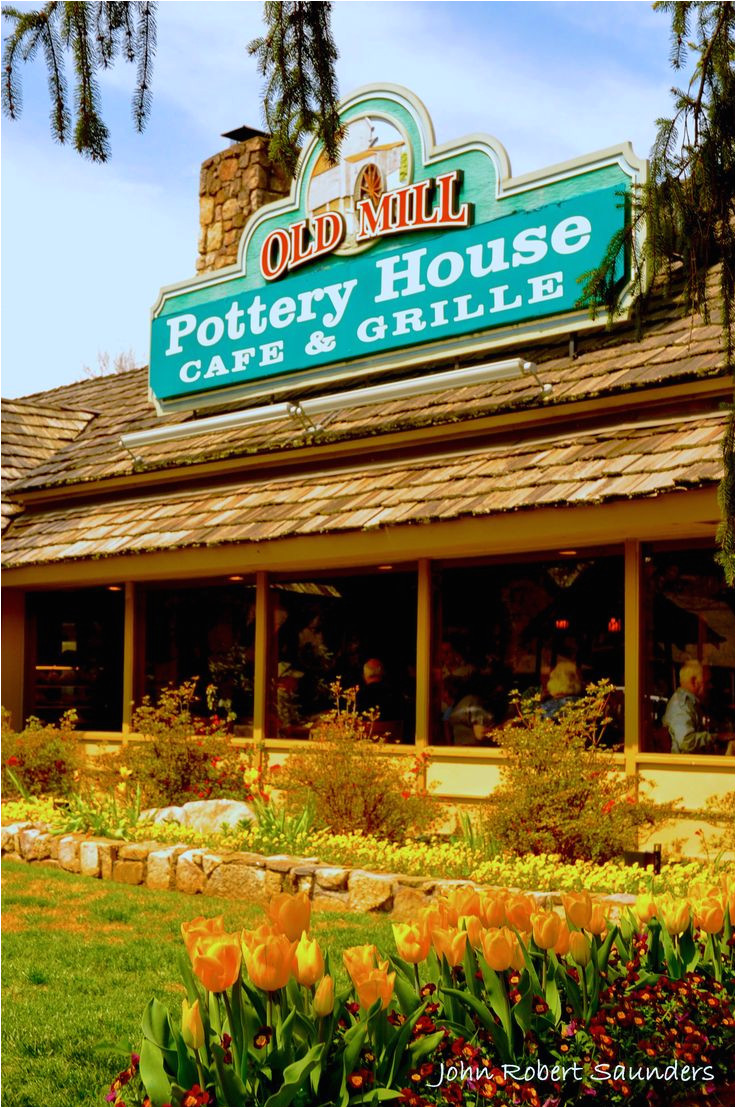 the old mill pottery house cafe grill