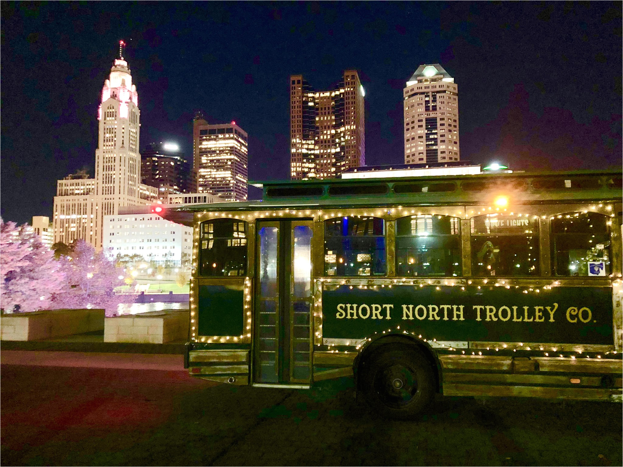 byob holiday trolley crawl lights tour thursday sunday events north high brewing columbus from 25