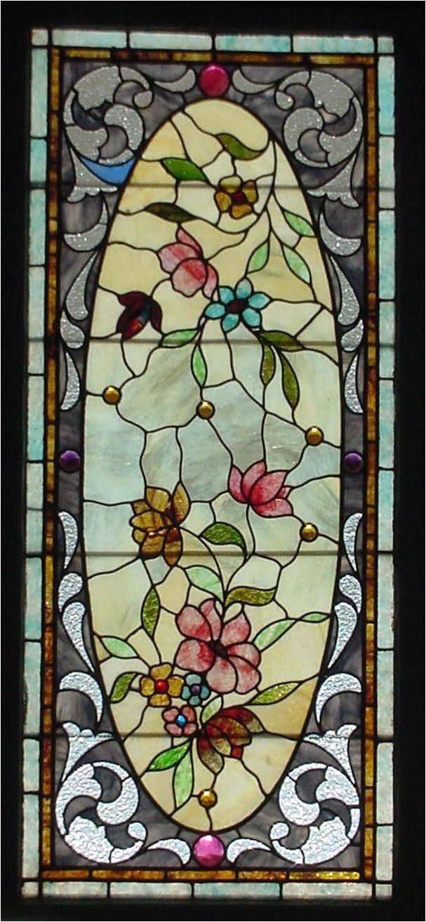 antique american stained glass i love when you can tell how painstakingly just the right section of the sheet with just the right color variation was