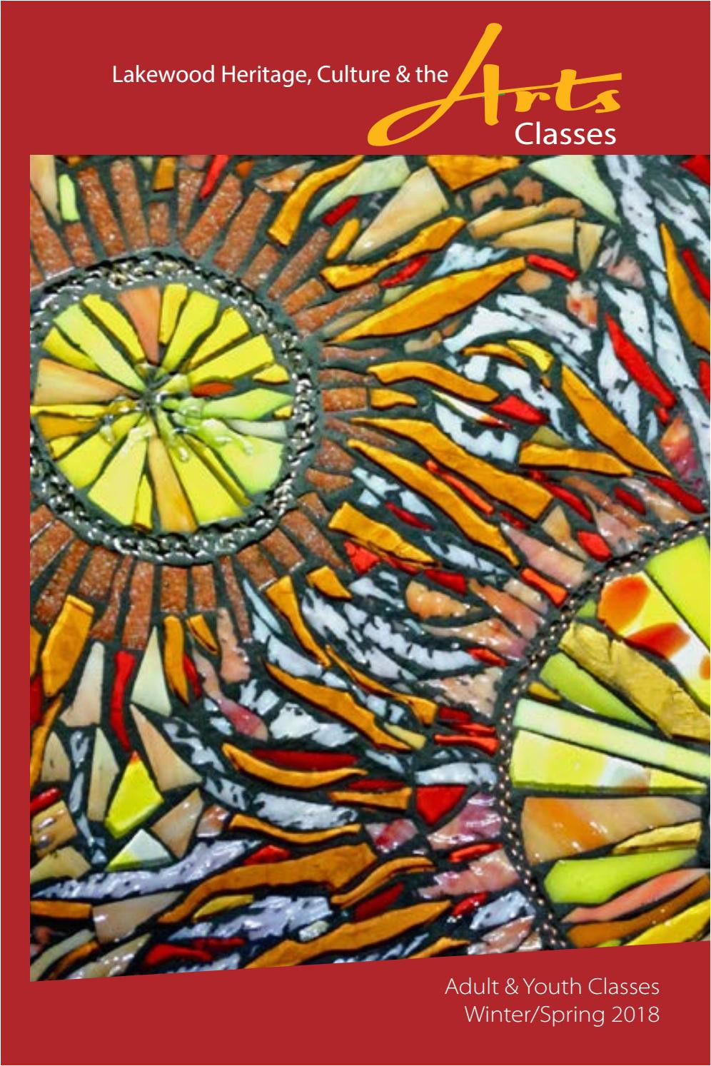 Retail Stained Glass Supplies Denver Heritage Culture the Arts Classes Winter Spring 2018 by City Of
