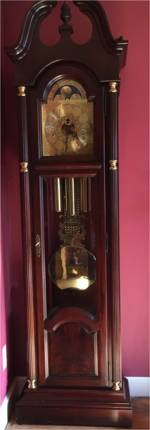 Ridgeway Grandfather Clock Won T Chime Used Howard Miller Grandfather Clock Model Number 610 220 for Sale