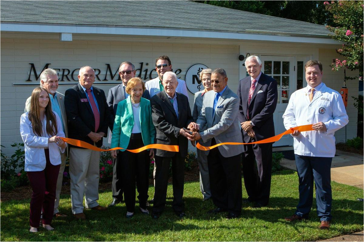 mercer medicine plains introduced at ribbon cutting ceremony local news albanyherald com