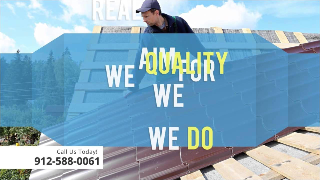 metal roofing savannah ga 912 588 0061
