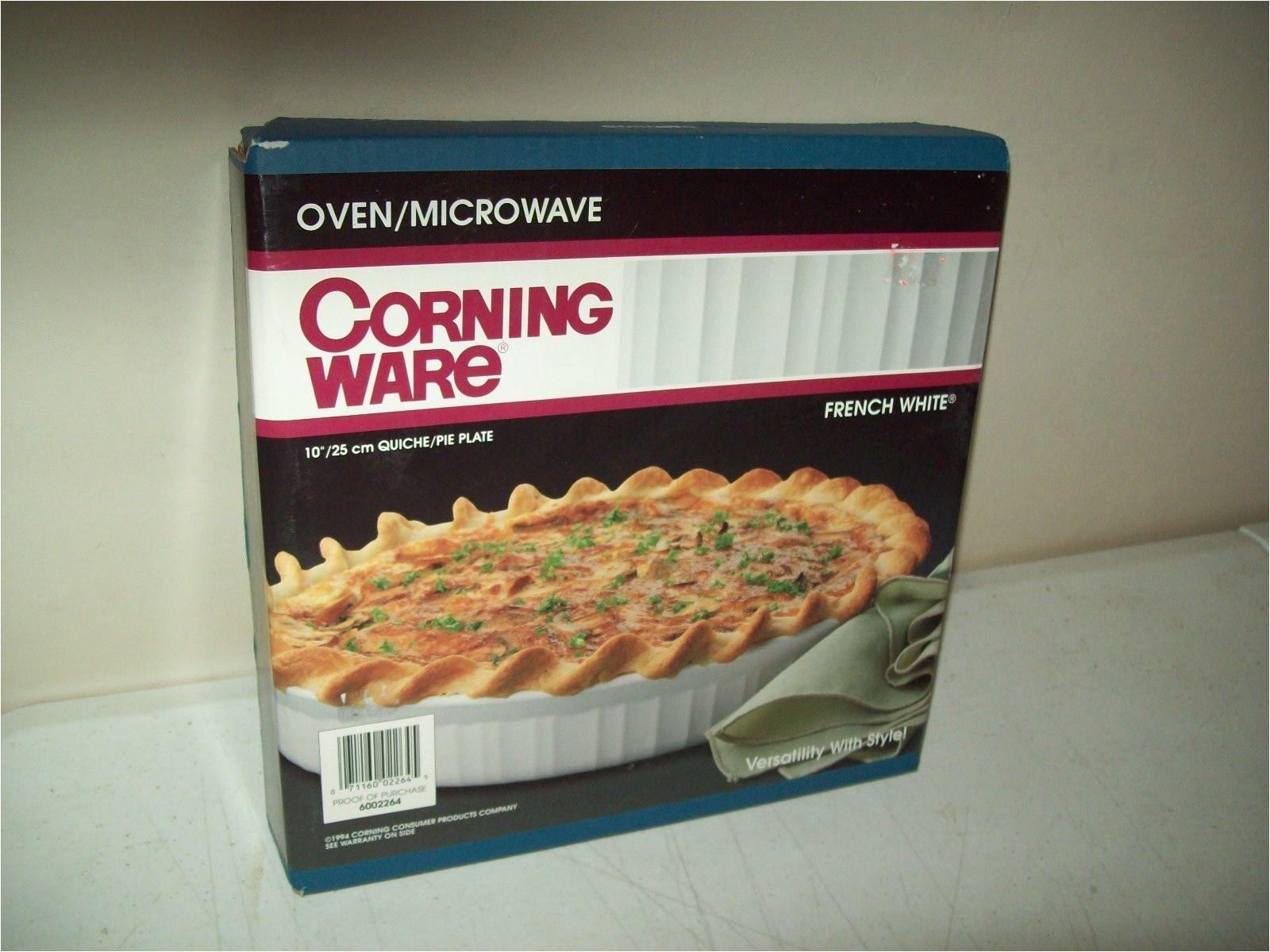 amazon com corningware french white 10 quiche pie plate quiche pans kitchen dining