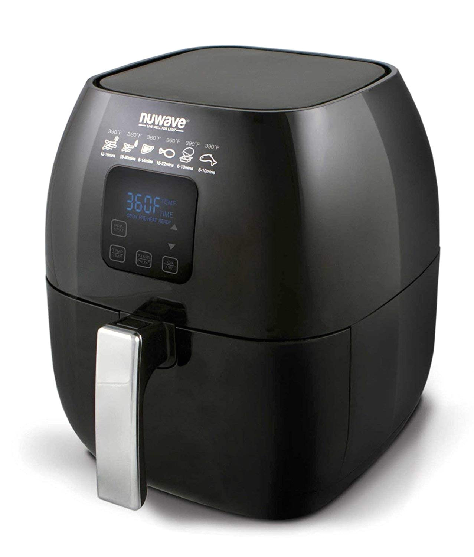 amazon com nuwave versatile brio air fryer with one touch digital controls kitchen dining