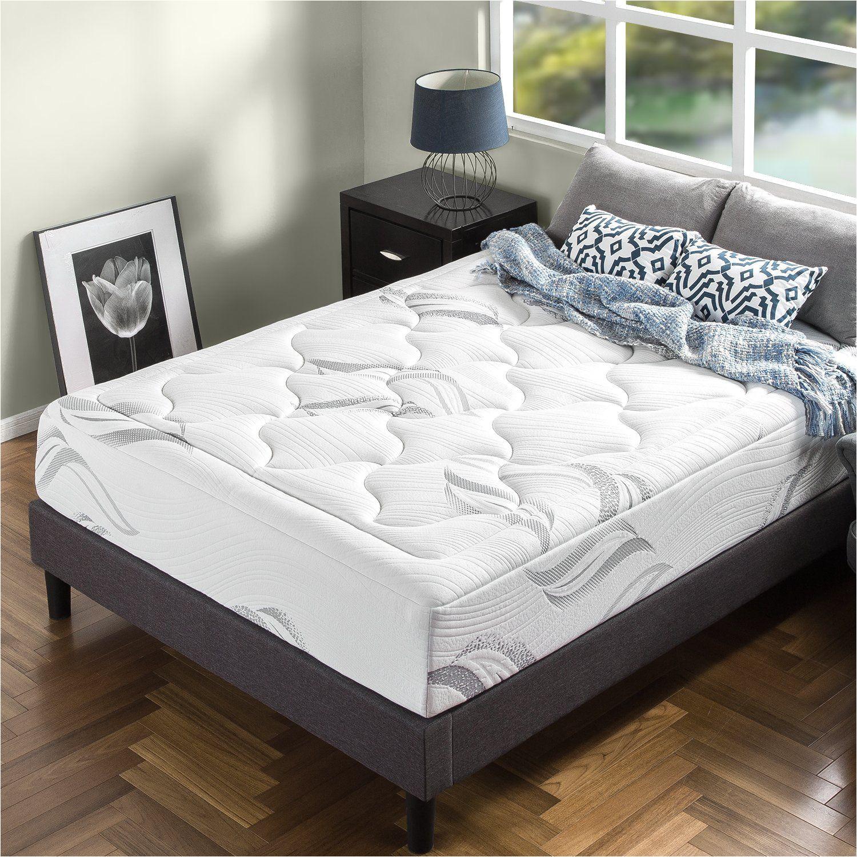 zinus memory foam 12 inch premium ultra plush cloud like mattress queen image for more details