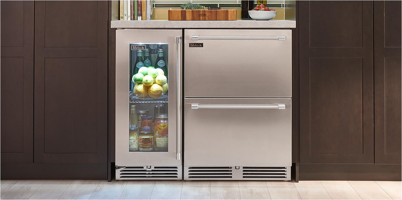 Shallow Depth Under Cabinet Refrigerator Wine Storage Perlick Wine Refrigerator Perlick Wine Cooler