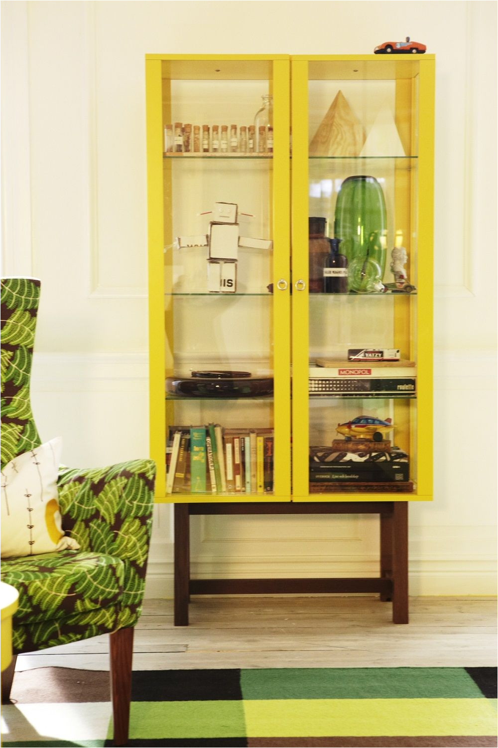 ikea stockholm glass door display cabinet