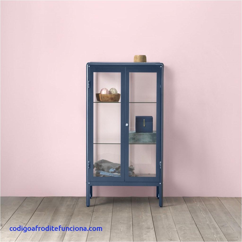 wandregal glas ikea fur fabrik r vitrinekast zwartblauw blauw
