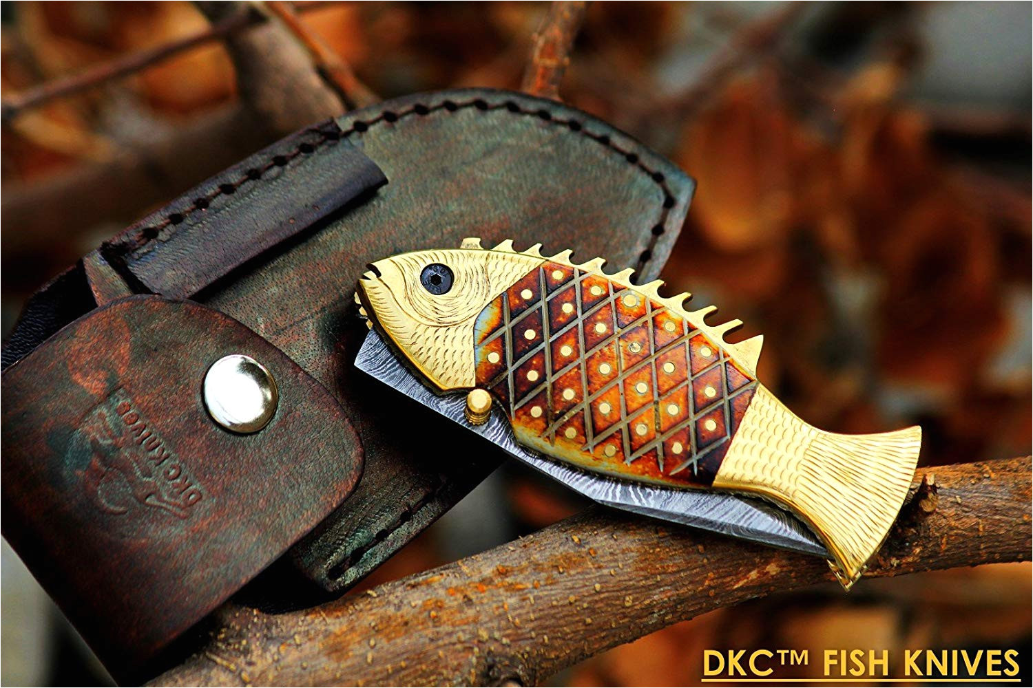 Silver Stag Woods and Water Fillet Knife Amazon Com Dkc Knives 12 7 18 Dkc 593 Sun Fish Mouth Open Bass