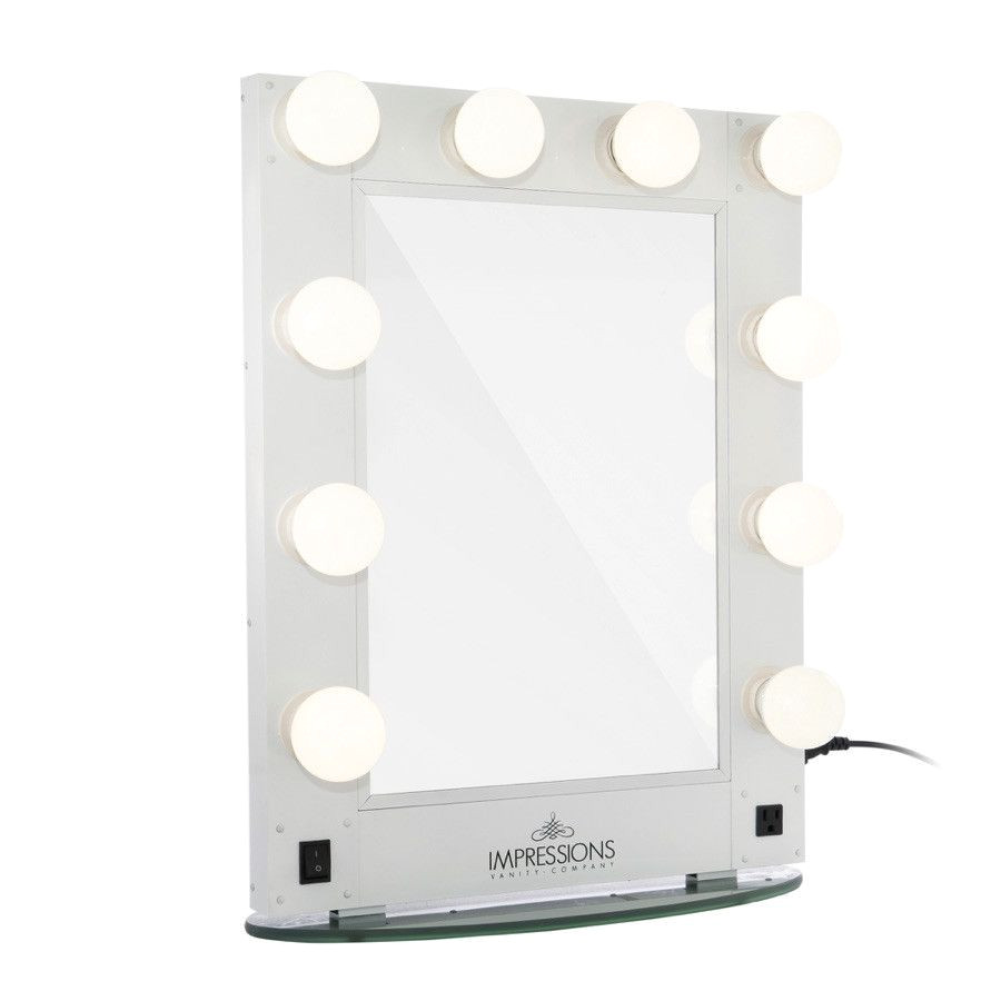 hollywood glamour vanity mirror with led bulbs