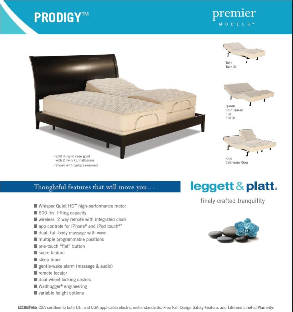 amazon com adjustables prodigy adjustable bed twin x large kitchen dining