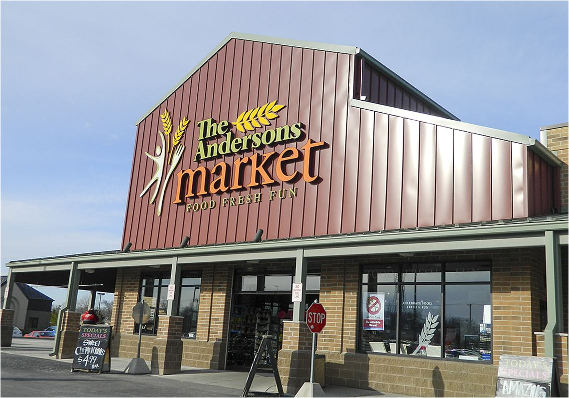 the andersons fresh market in sylvania township food only store did not provide sustainable