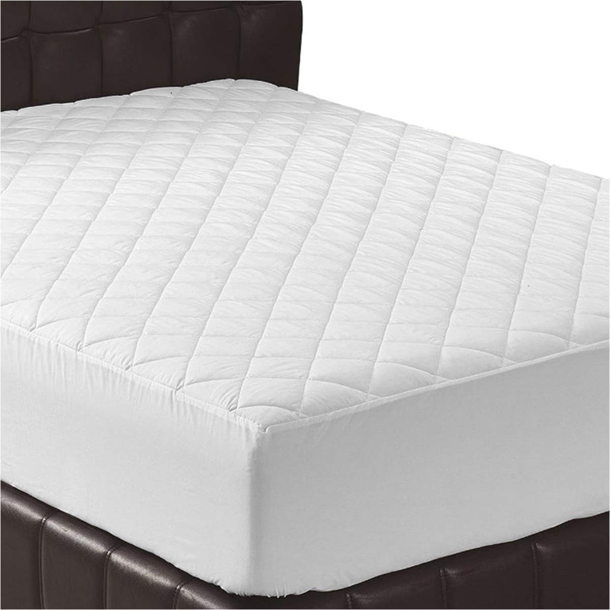 amazon com utopia bedding quilted fitted mattress pad full mattress cover stretches up to 16 inches deep mattress topper home kitchen