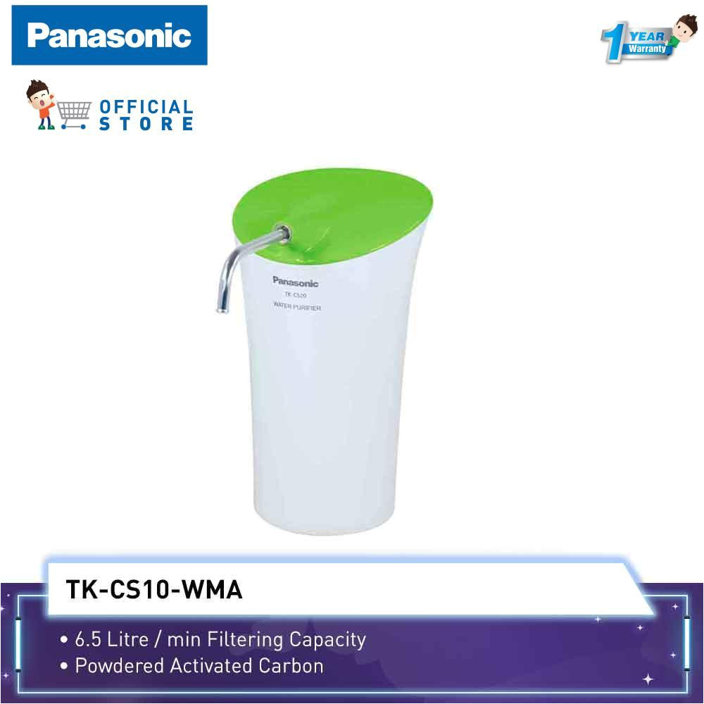 panasonic water purifier tk cs10 6 5l mins filter capacity