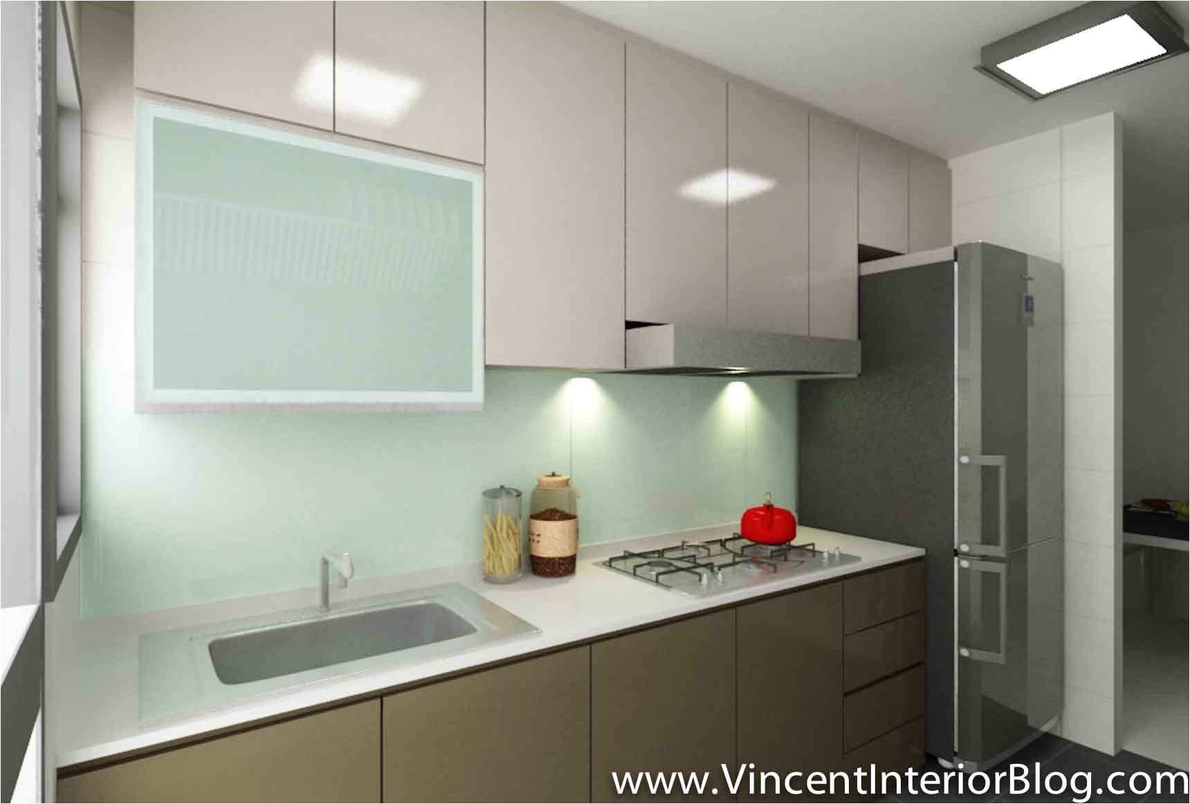 small singapore kitchen layout google search