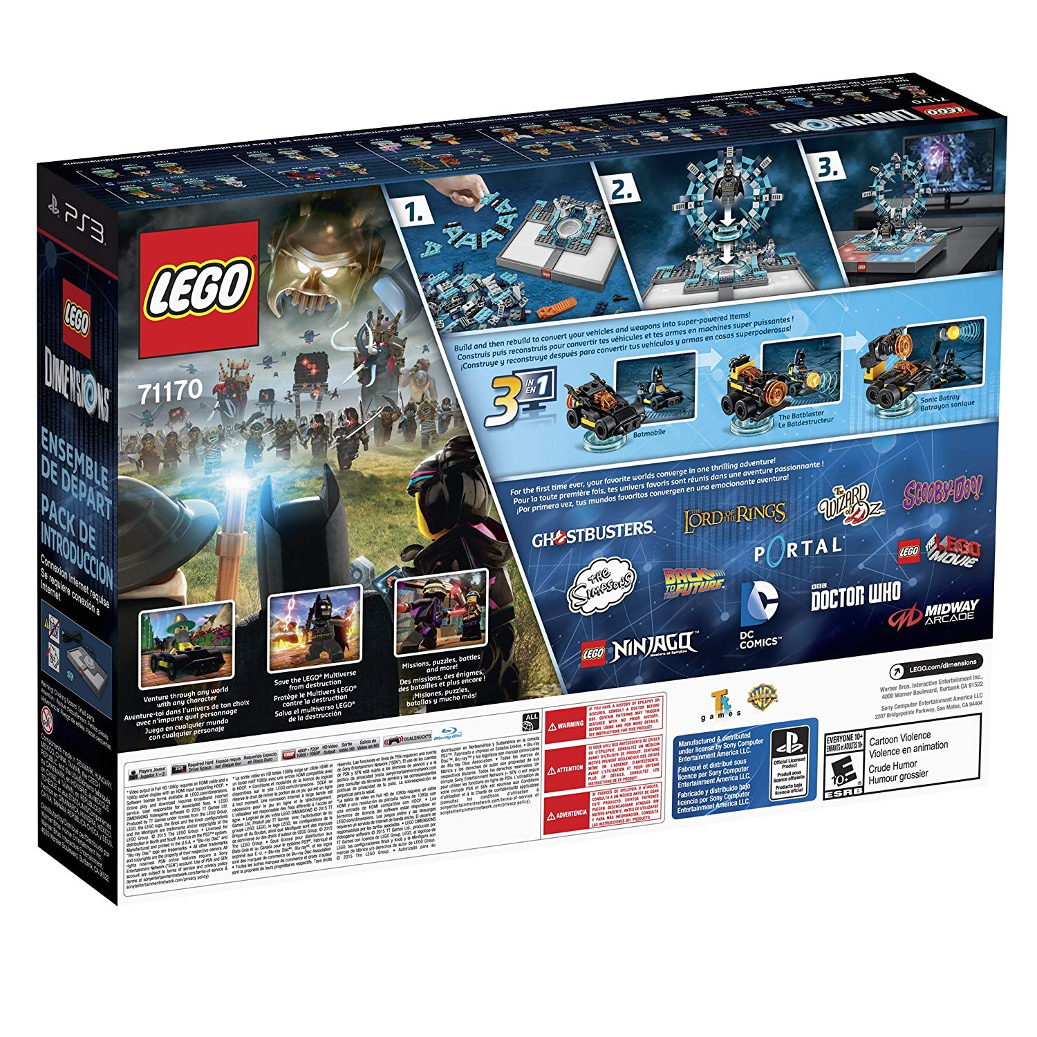 lego dimensions starter pack playstation 3 amazon in garden outdoors