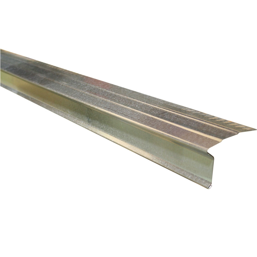 union corrugating 2 38 in x 10 ft galvanized steel drip edge