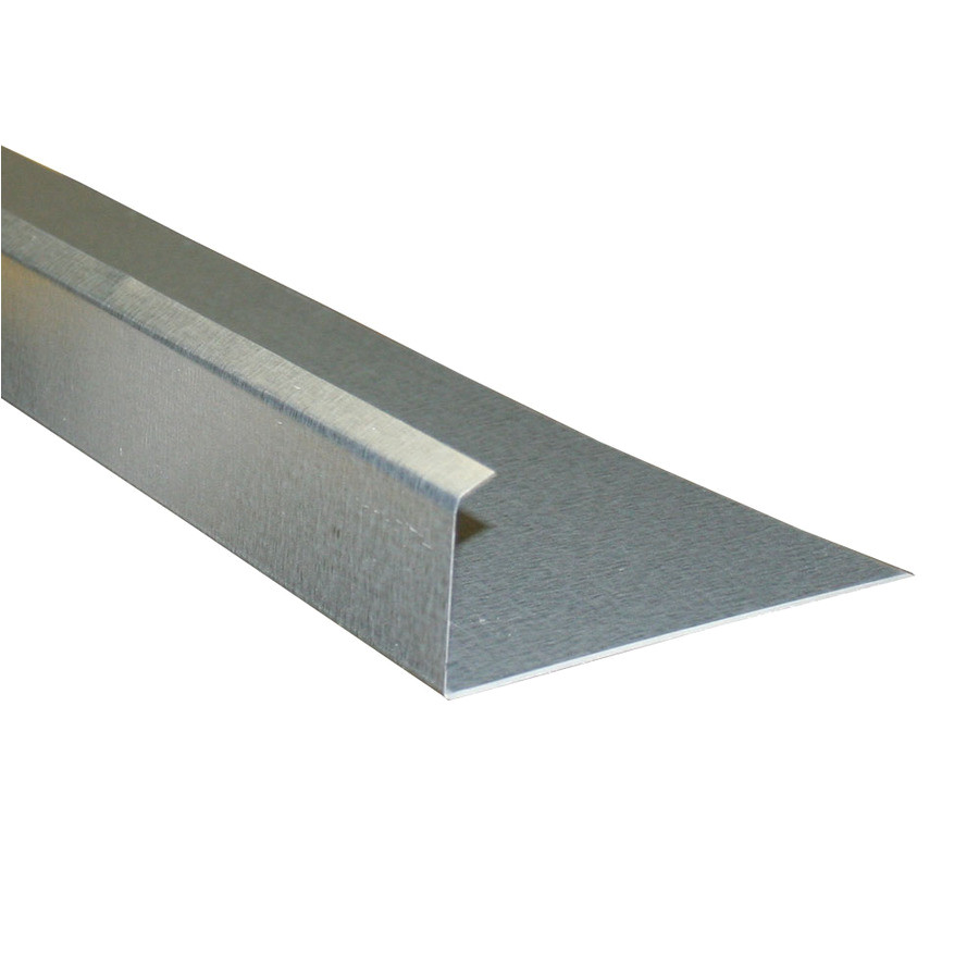 union corrugating 5 in x 10 ft galvanized steel drip edge