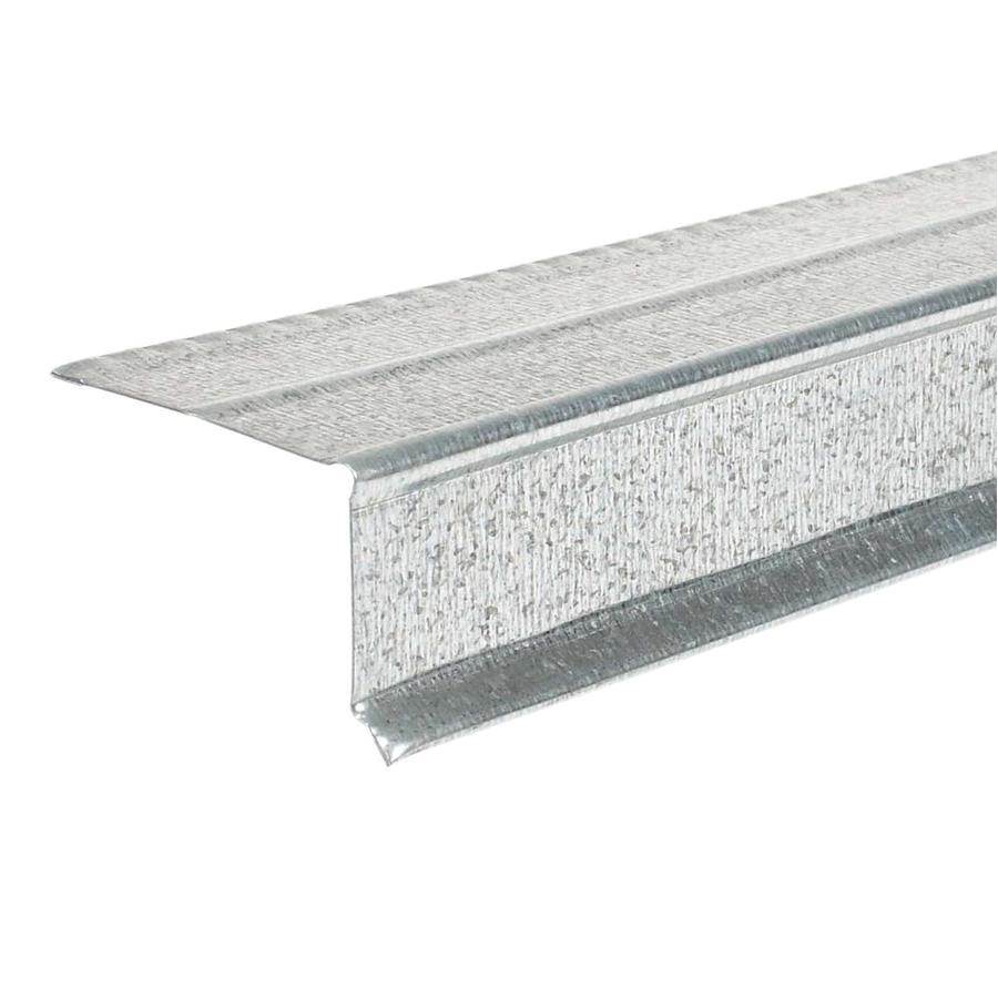 amerimax 1 5 in x 10 ft galvanized steel drip edge