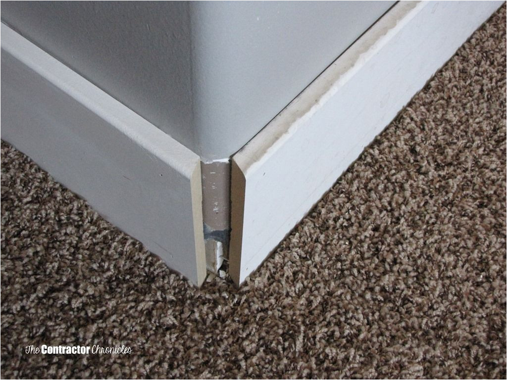 how to cut baseboard for a rounded corner the contractor chronicles baseboard trim baseboards