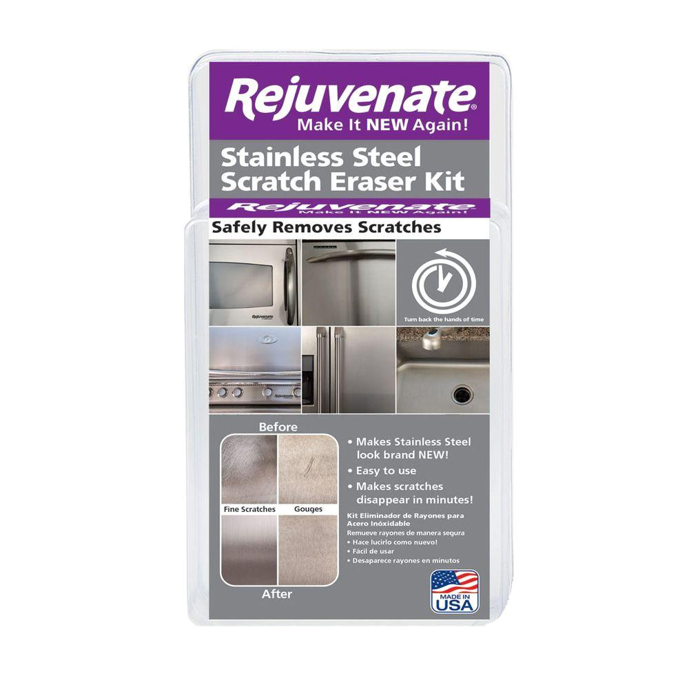 rejuvenate stainless steel scratch eraser kit