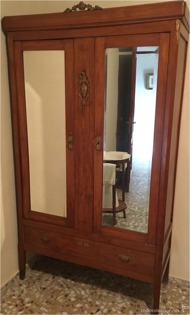 antiguo armario con espejos aa os 50