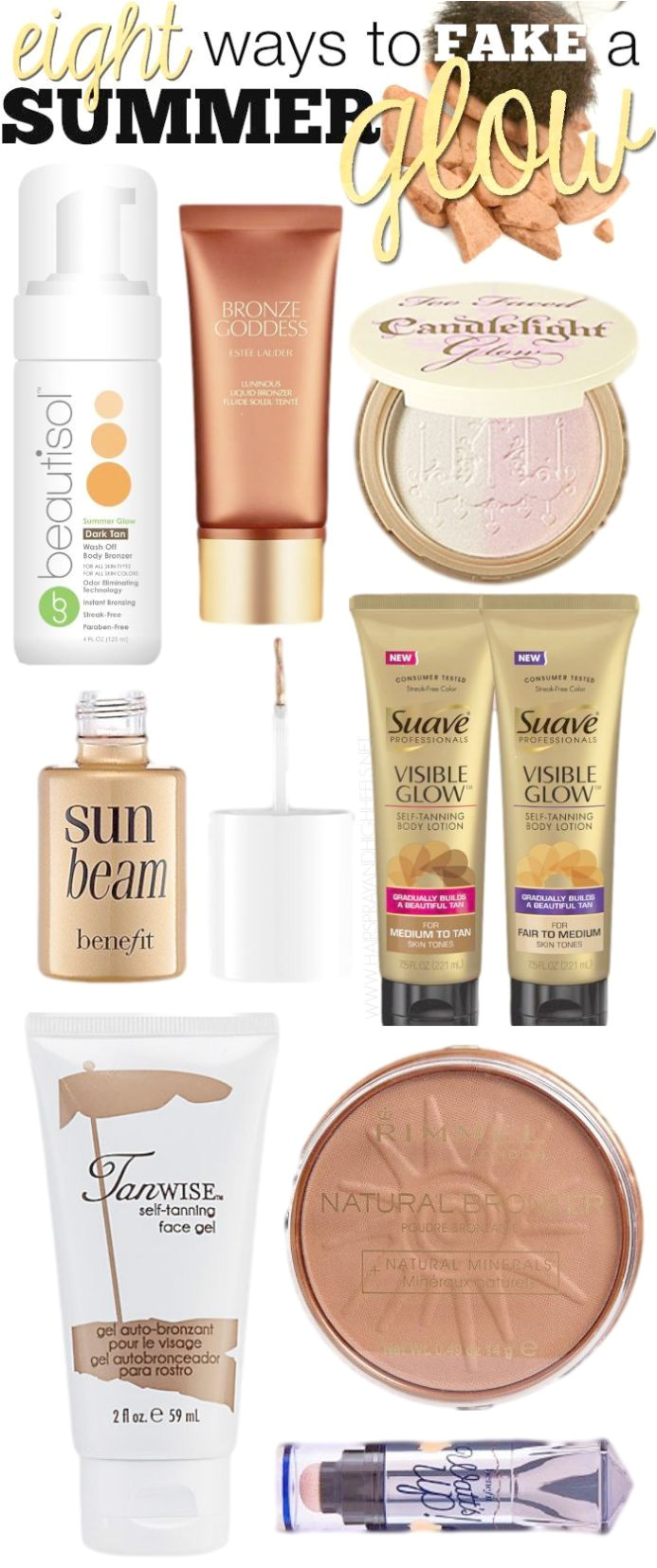 8 ways to fake a summer glow winter has been wreaking havoc well into spring around these parts its about time we give it the ol kick in the butt