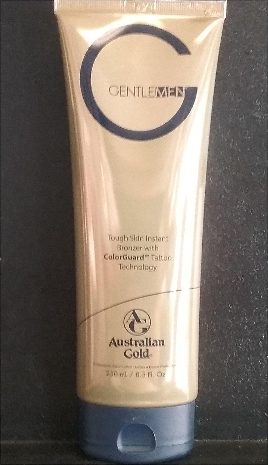 australian gold g gentlemen natural bronzer 8 5 oz fast