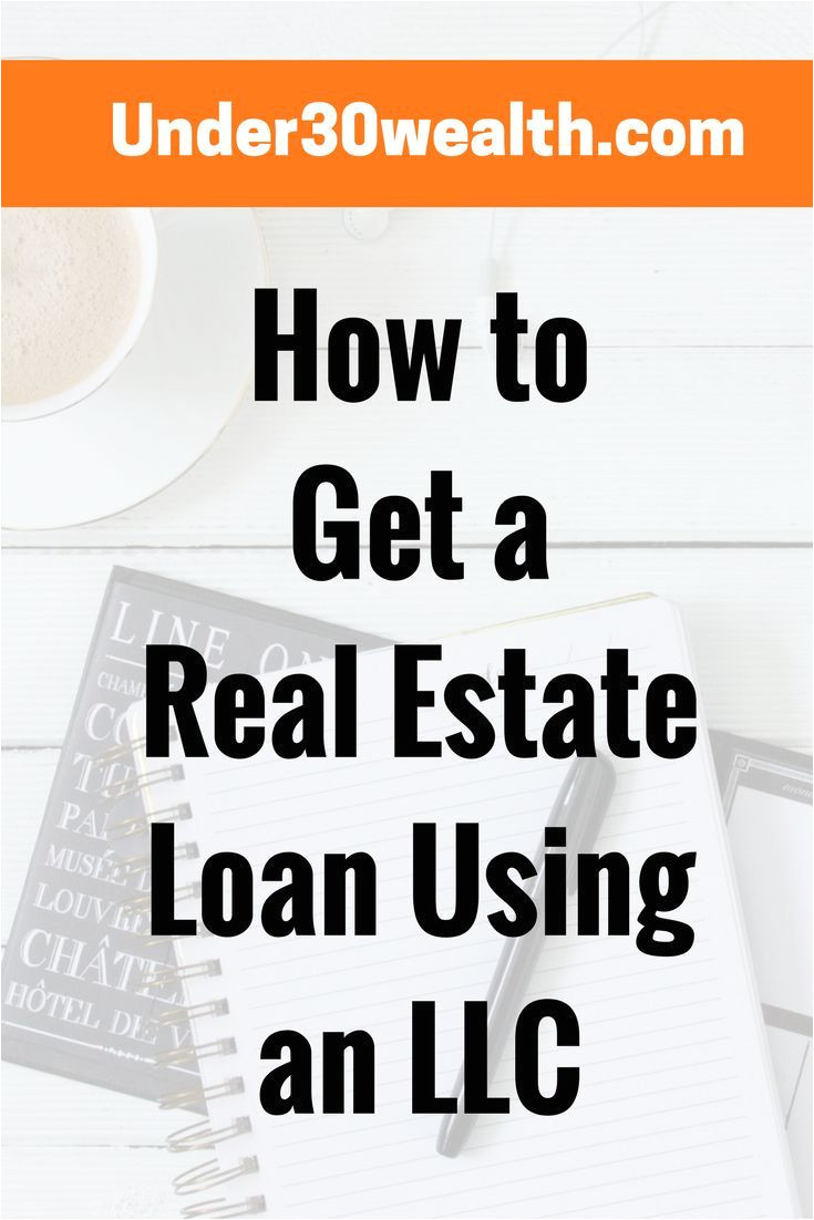 can you get a real estate investment loan under your llc