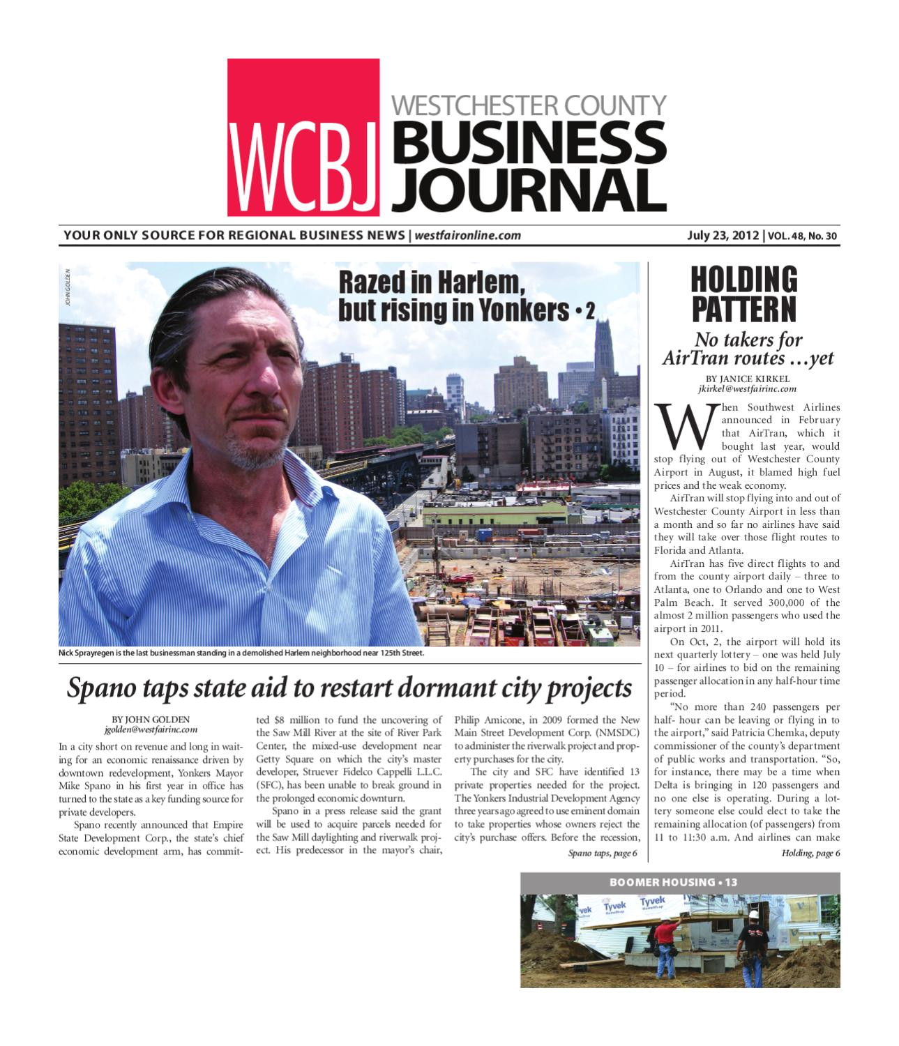 westchester county business journal 07 23 12 issue by wag magazine issuu
