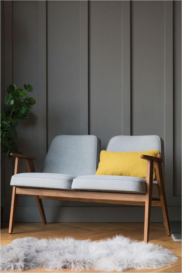 ce canape 2 places de la marque 366 concept retro furniture est inspiree
