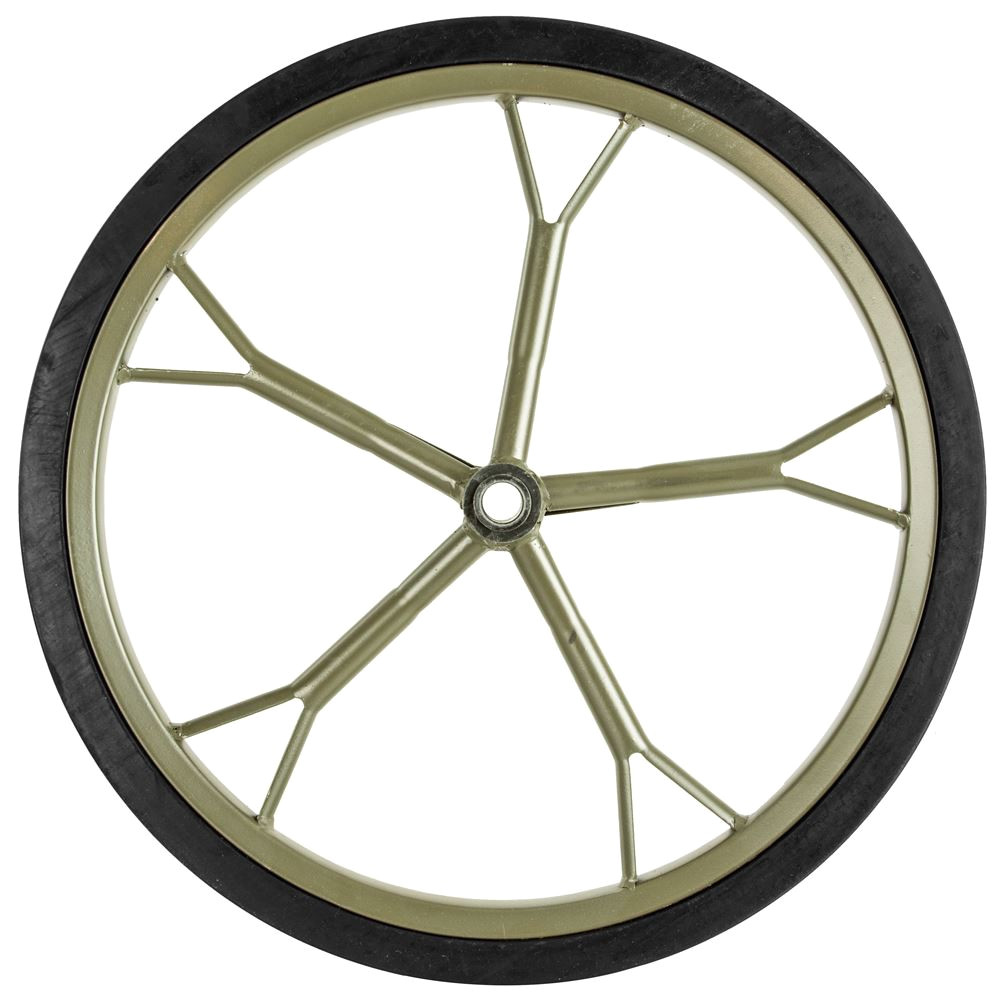hunting game cart 18 5 solid rubber replacement wheel 0