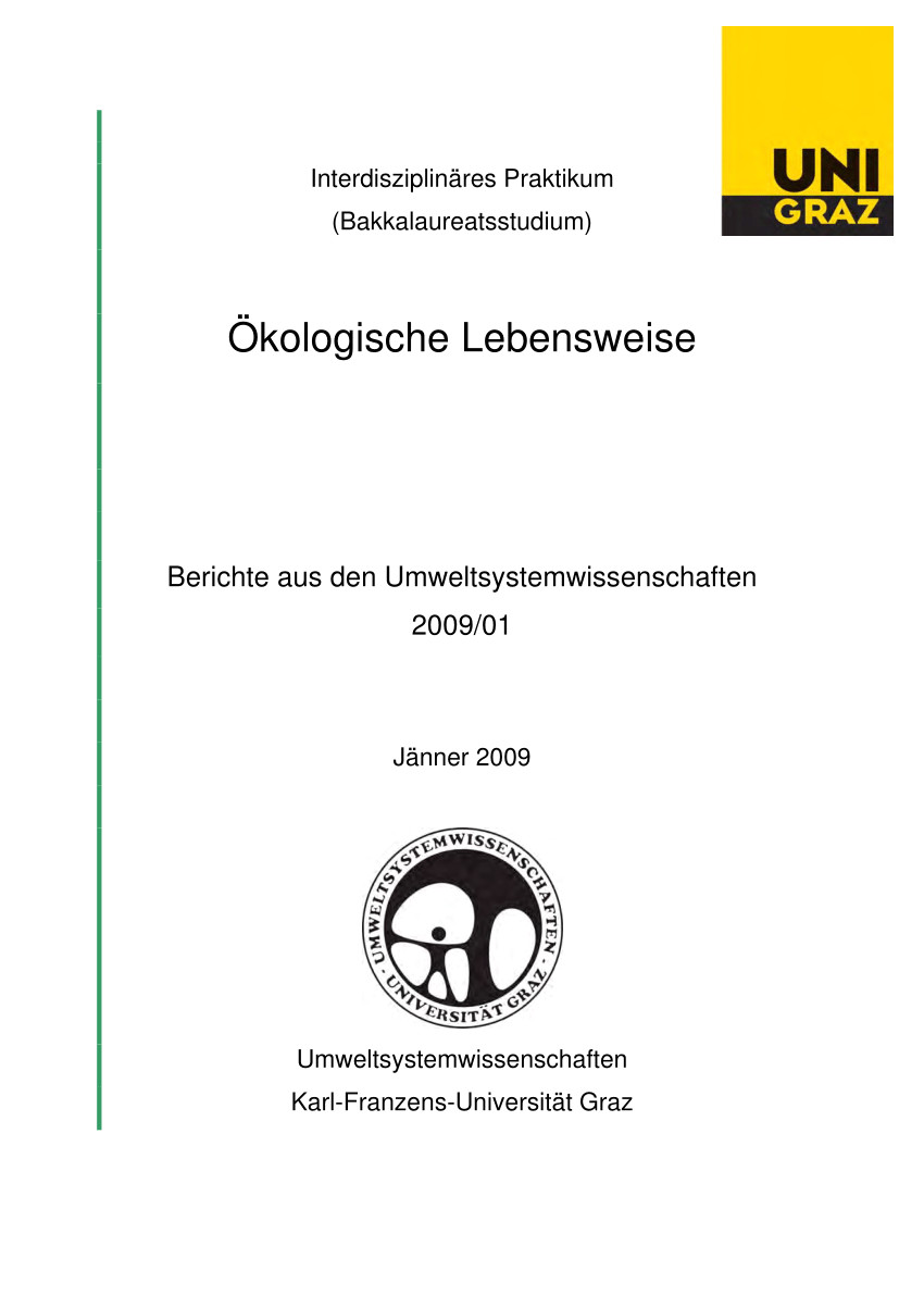 pdf a kologische lebensweise ecological way of living