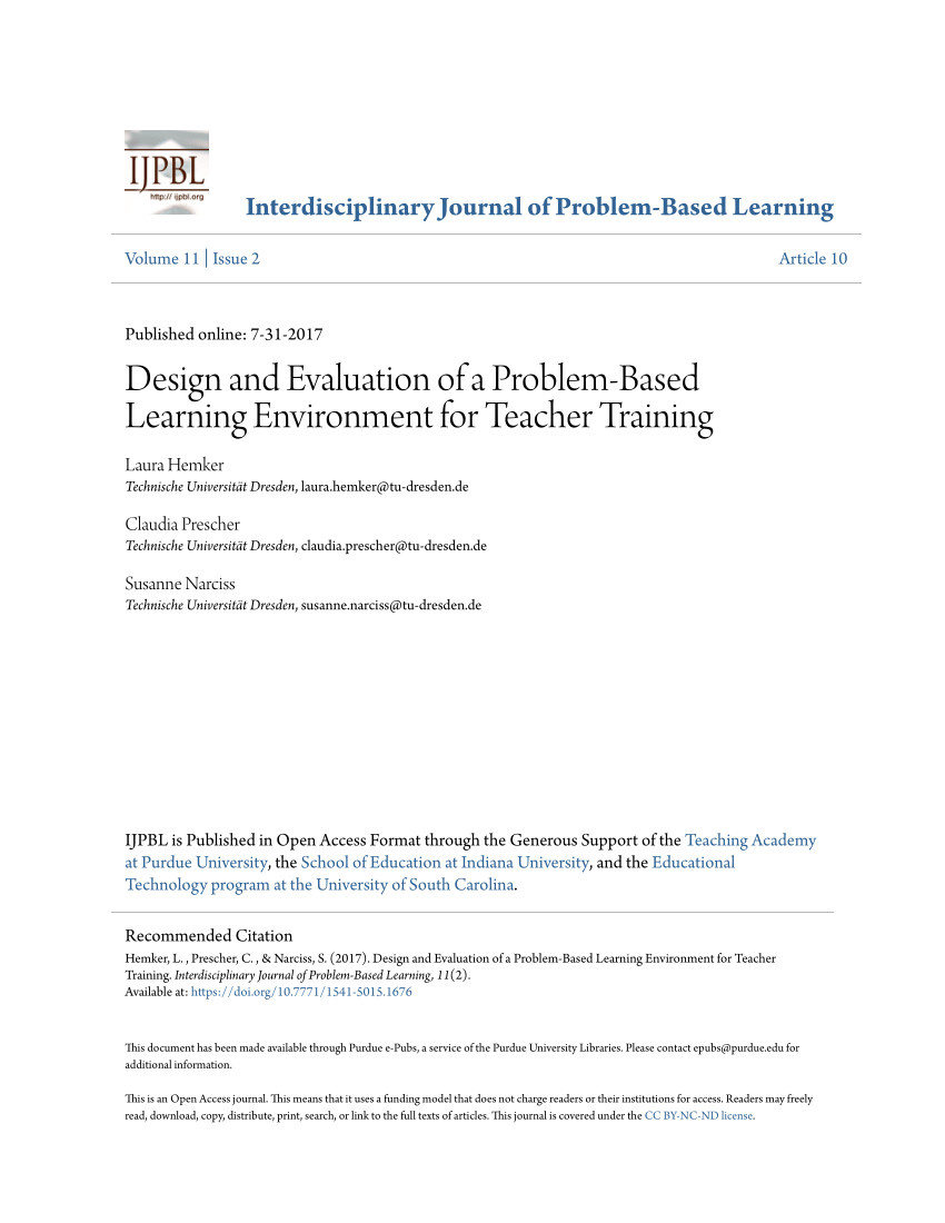 pdf problembasiertes lernen pbl