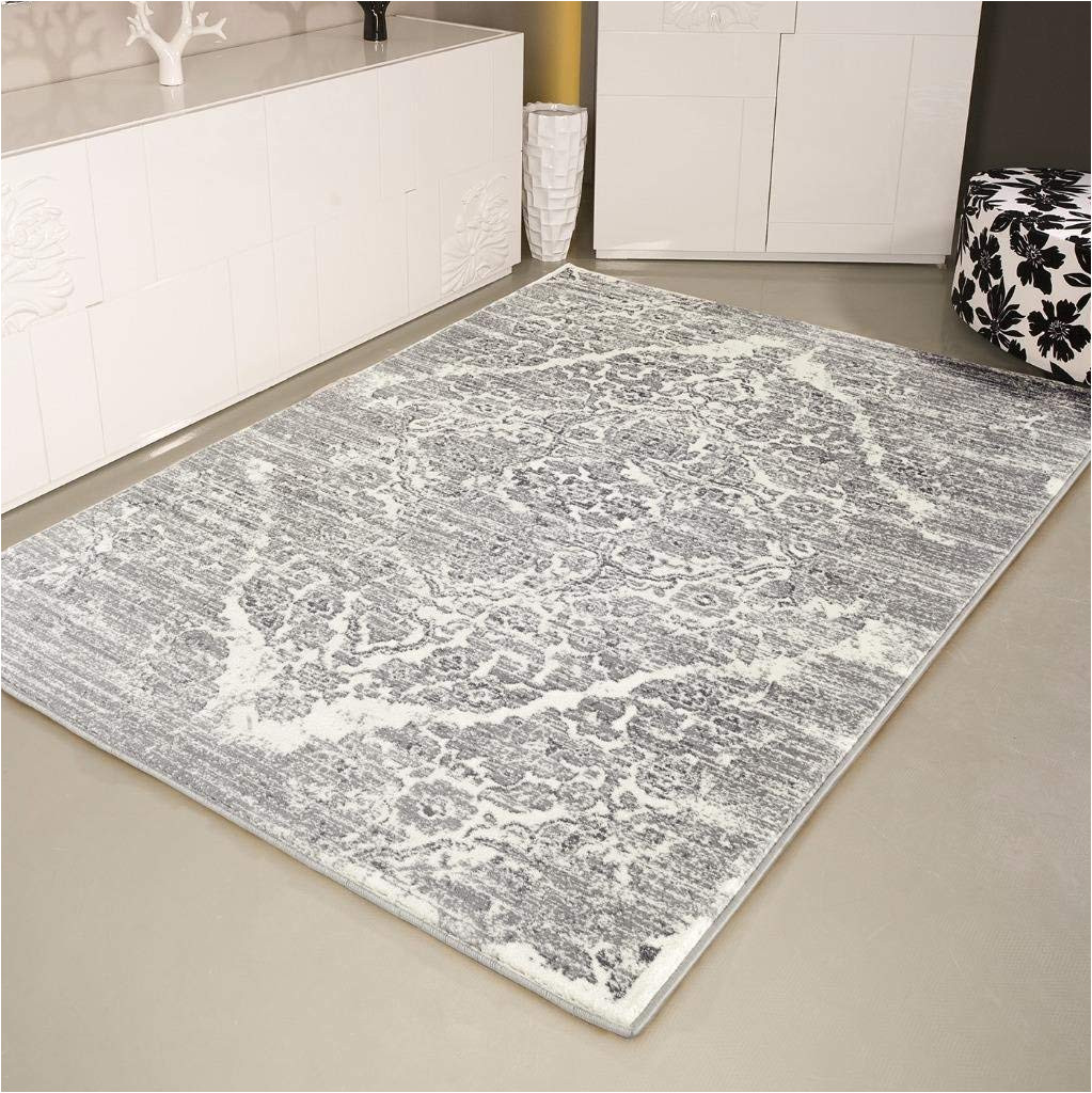 amazon com persian rugs 4620 distressed silver 7 10x10 6 area rug carpet large new kitchen dining