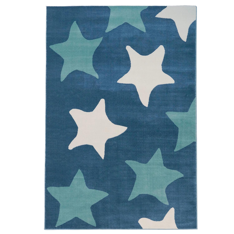 elvis star blue area rug jpg