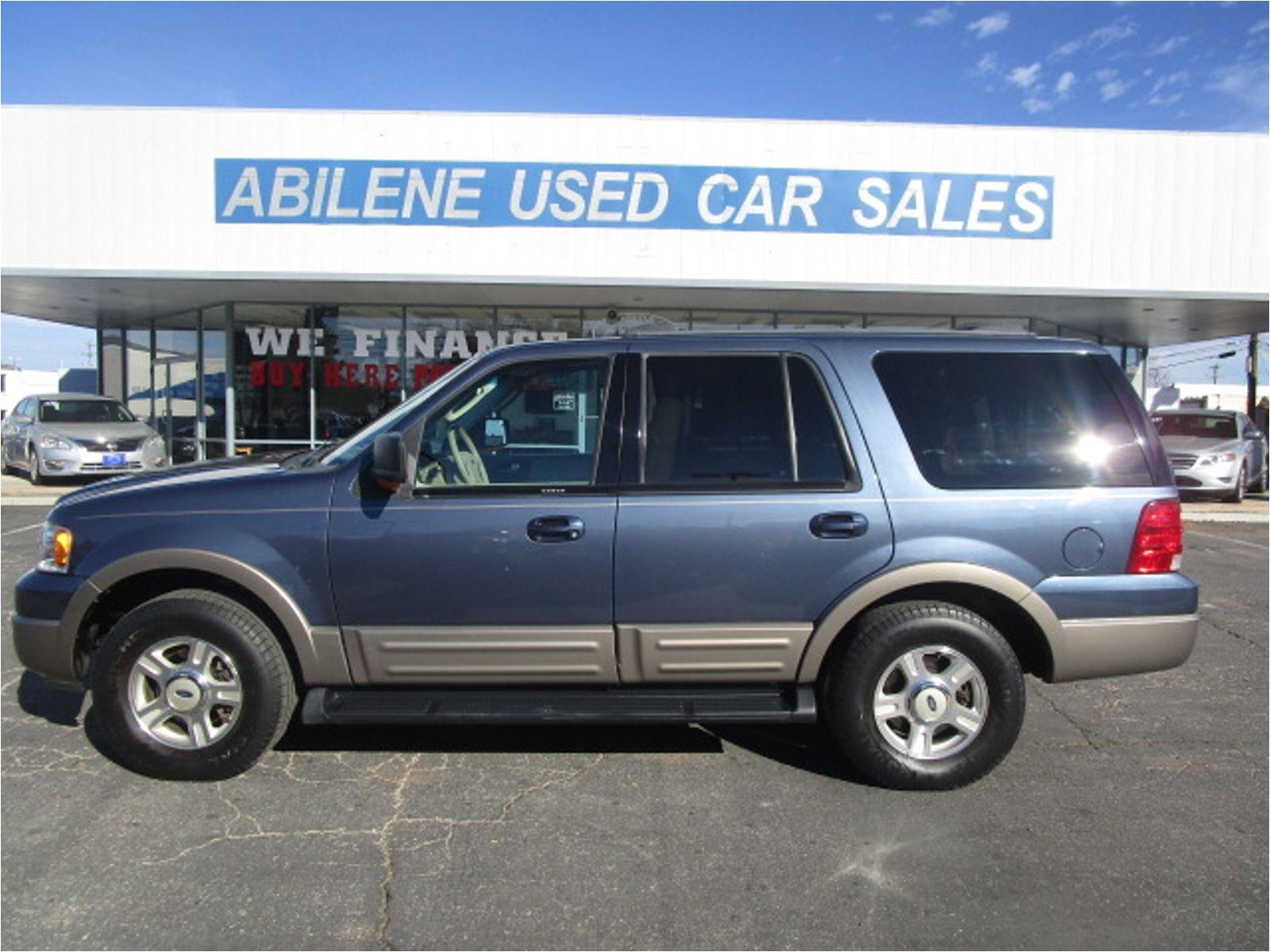 2003 ford expedition eddie bauer abilene tx abilene used car sales in abilene