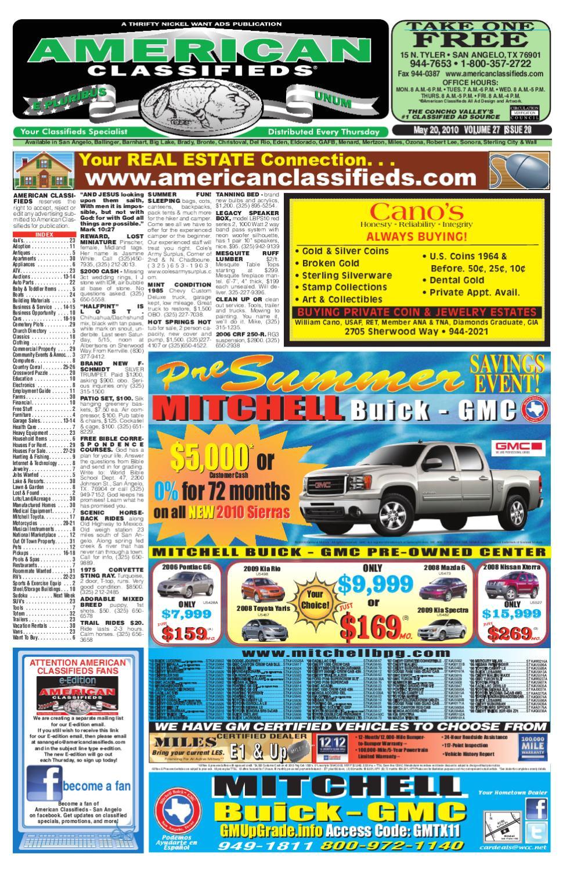 san angelo american classifieds by san angelo american classifieds issuu