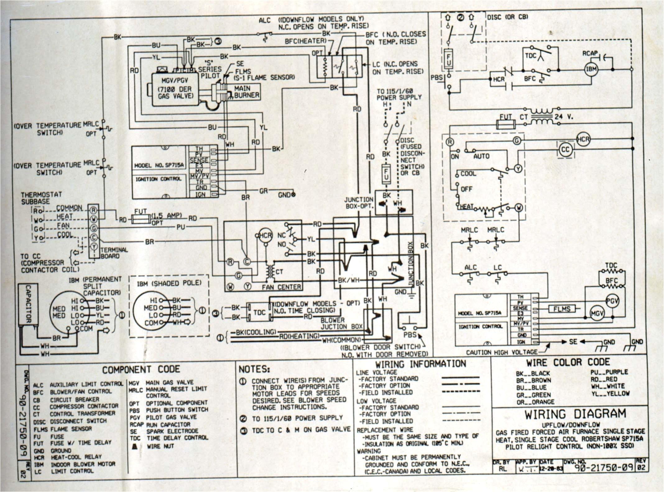 furnace wiring diagram wiring diagram schemes american standard high efficiency furnace schematic american standard furnace schematic